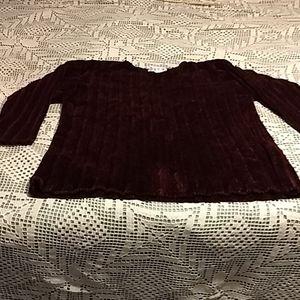 Jones of New York Sport Chenille sweater